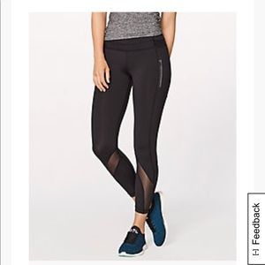 Lululemon inspire tight II black 25""